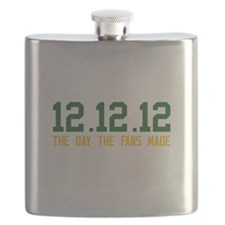 Green & Gold 12.12.12 Flask
