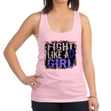 Licensed Fight Like a Girl 31.8 Racerback Tank Top