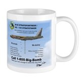 B-52 1-800-Big-Bomb Coffee Mug
