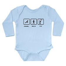 RC Airplane Long Sleeve Infant Bodysuit