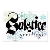 Solstice Greetings Postcards (Package of 8)