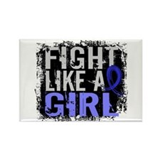 Fight Like a Girl 31.8 RA Rectangle Magnet