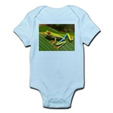 Red Eyed Tree Frog Infant Bodysuit