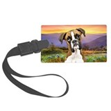 Boxer Meadow Luggage Tag