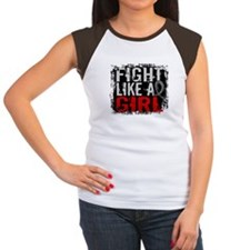 Fight Like a Girl 31.8 J Diabetes Tee