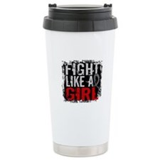 Fight Like a Girl 31.8 J Diabetes Ceramic Travel M