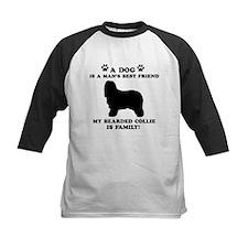 Bearded Collie Dog Breed Designs Tee