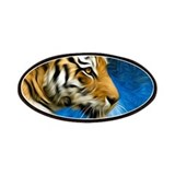 Tiger Art Painting Patches
