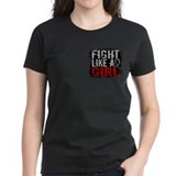 Fight Like a Girl 31.8 Diabetes Tee