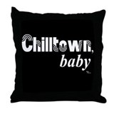 Chilltown baby Throw Pillow
