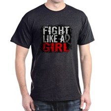 Fight Like a Girl 31.8 Brain Tumor T-Shirt