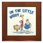 I'm The Little Buddy Framed Tile