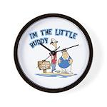 I'm The Little Buddy Wall Clock