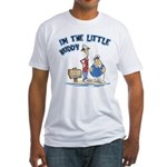 I'm The Little Buddy Fitted T-Shirt