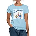 I'm The Little Buddy Women's Pink T-Shirt