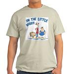 I'm The Little Buddy Ash Grey T-Shirt