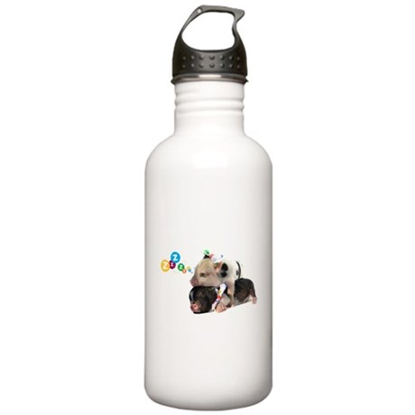 micro pigs sleeping Stainless Water Bottle 1.0L