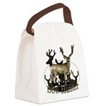 Bow hunter 4 Canvas Lunch Bag
