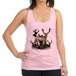 Bow hunter 4 Racerback Tank Top