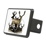 Bow hunter 4 Rectangular Hitch Cover