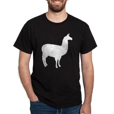 Llama Black T-Shirt