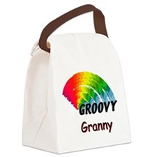 Groovy Granny Canvas Lunch Bag