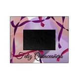Feliz Quinceanera 15th Birthday Picture Frame