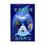 Earth Song Mini Poster Print