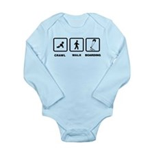 Kiteboarding Long Sleeve Infant Bodysuit