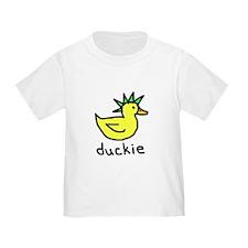 Punk Duck (Green) T