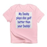 Funny Disc golf basket Infant T-Shirt