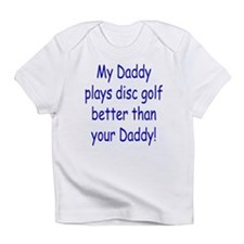 Funny Disc golf Infant T-Shirt