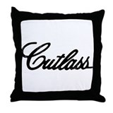 Olds Cutlass Throw Pillow