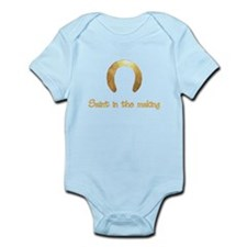Saint in the making Infant Bodysuit
