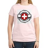 Switzerland Golf T-Shirt