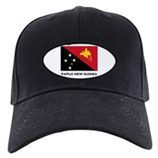 Papua New Guinea Flag Stuff Baseball Hat