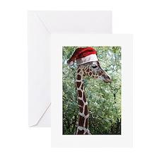 Christmas Giraffe Greeting Cards (Pk of 20)