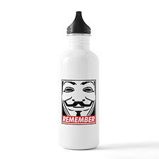 Remember Water Bottle