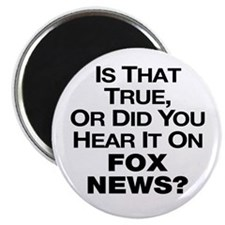 "True or Fox News? 2.25"" Magnet (10 pack)"
