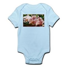 Orchids! Pink flowers! Photo! Infant Bodysuit