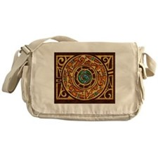 Harvest Moons Pueblo Medallion Messenger Bag