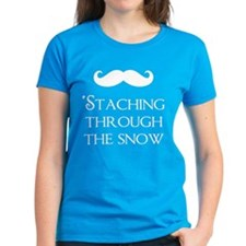 'Staching Through The Snow Tee