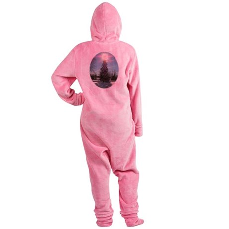 xmaspeaceovalsf.png Footed Pajamas