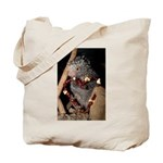 Porcupine With Berry Heart Tote Bag