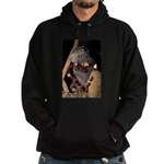 Porcupine With Berry Heart Hoodie (dark)