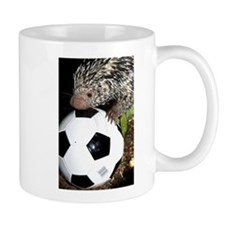 Porcupine With Soccer Ball Mug