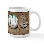 Meerkat With Soccer Ball Mug