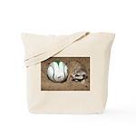 Meerkat With Soccer Ball Tote Bag
