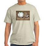 Meerkat With Soccer Ball Light T-Shirt
