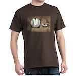 Meerkat With Soccer Ball Dark T-Shirt
